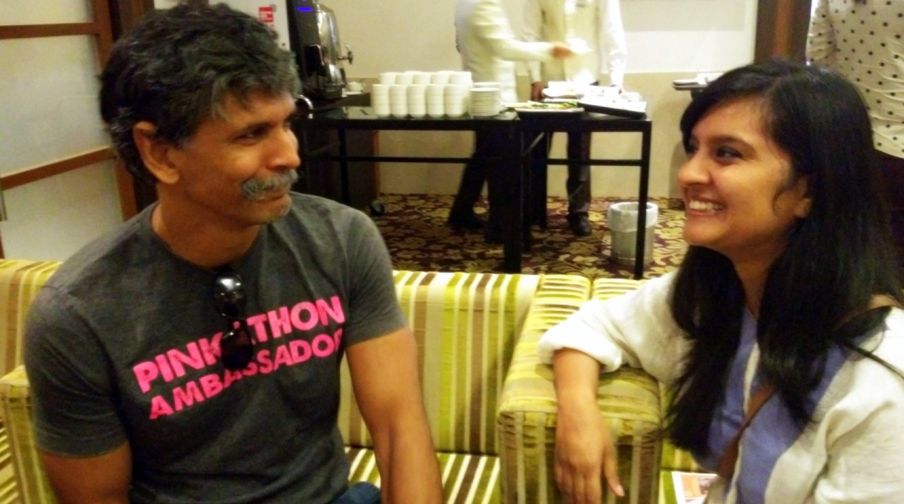 On CB's Couch Milind Soman - On CB's Couch- Milind Soman