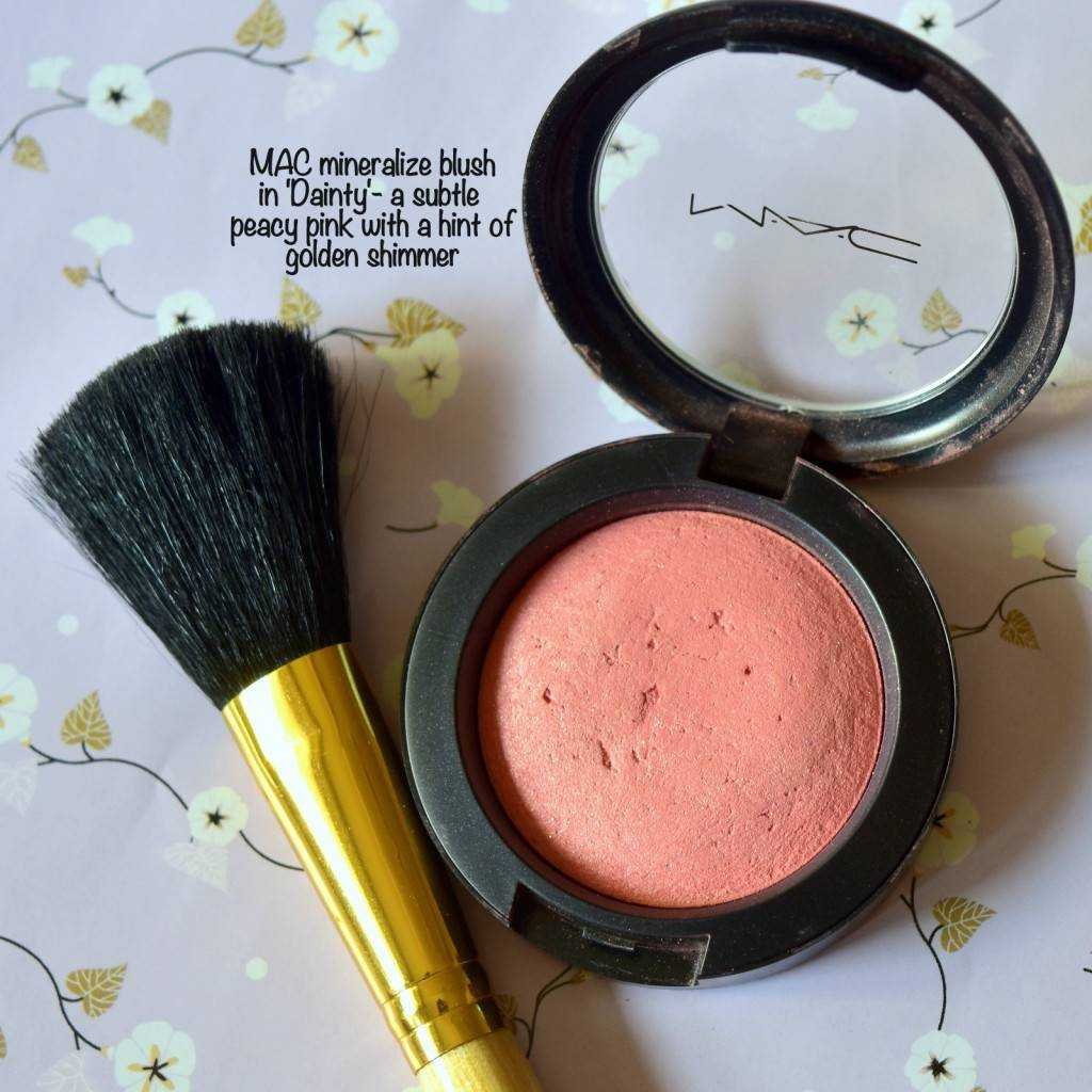 MAC Blush 1024x1024 - Brunch/ Lunch Date Makeup For Winter-y Weekends