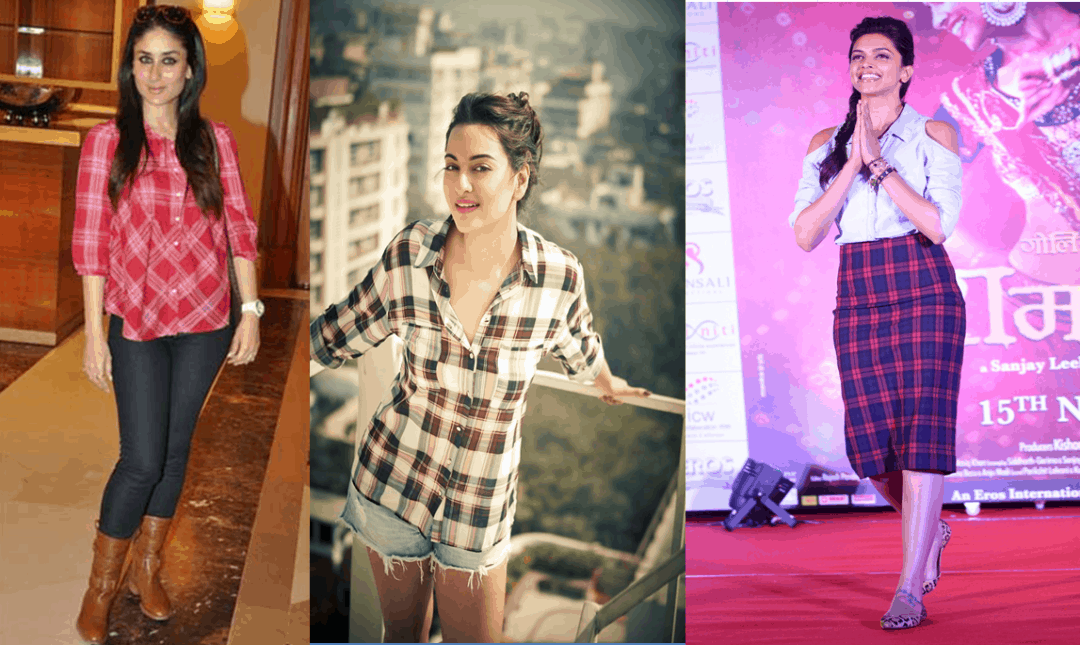 Untitled 2 1080x645 - Plaids Bollywood style!!
