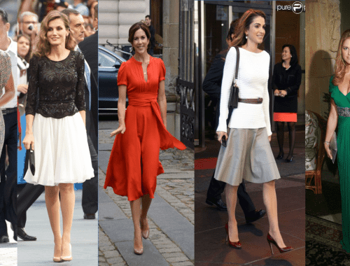Royals Part 1 500x380 - Female royals and their taste for fashion- Part -1