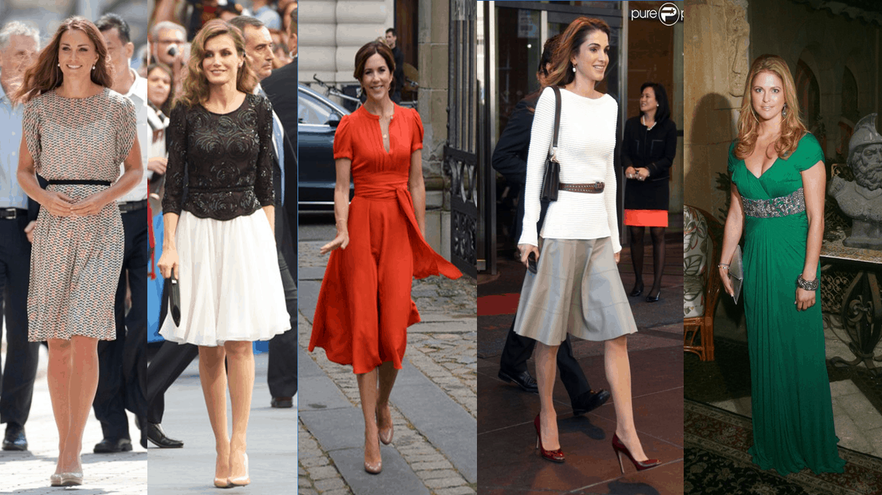 Royals Part 1 - Female royals and their taste for fashion- Part -1