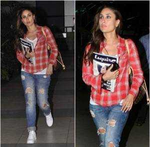 kareena kapoor casual look 300x294 - That's how Bollywood looks distressed!!