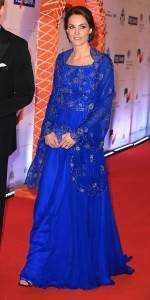 11catherine2 150x300 - Kate Middleton's wardrobe for India tour