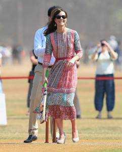 11catherine4 241x300 - Kate Middleton's wardrobe for India tour