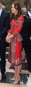 11catherine7 109x300 - Kate Middleton's wardrobe for India tour