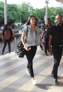 Anushka Sharma 204x300 - Airport looks to steal from Bollywood