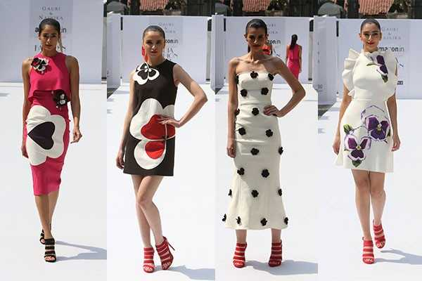 Gauri Nainika 2 - Amazon India fashion week 2016