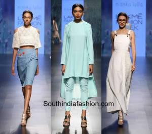 Nishka Lulla at Lakme Fashion Week Summer Resort 2016 300x265 - Lakmé Fashion Week S/R 2016- Part- I