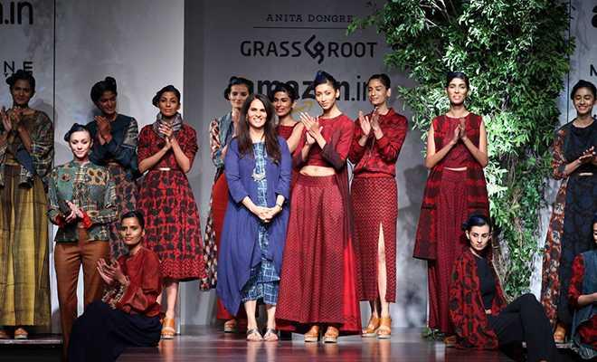 a 2 - Amazon India fashion week 2016