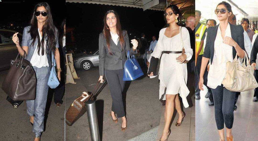 cannes 2012 sonam kapoor airport 1080x593 - Airport looks to steal from Bollywood