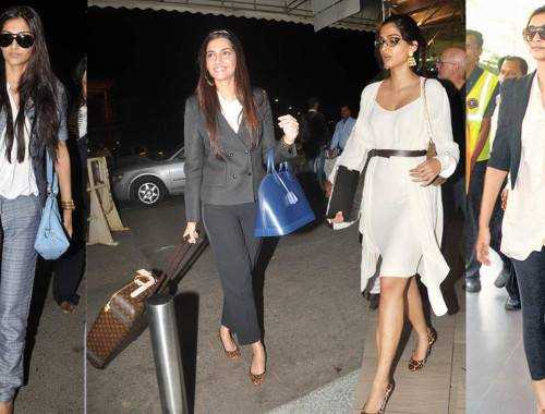 cannes 2012 sonam kapoor airport 500x380 - Airport looks to steal from Bollywood