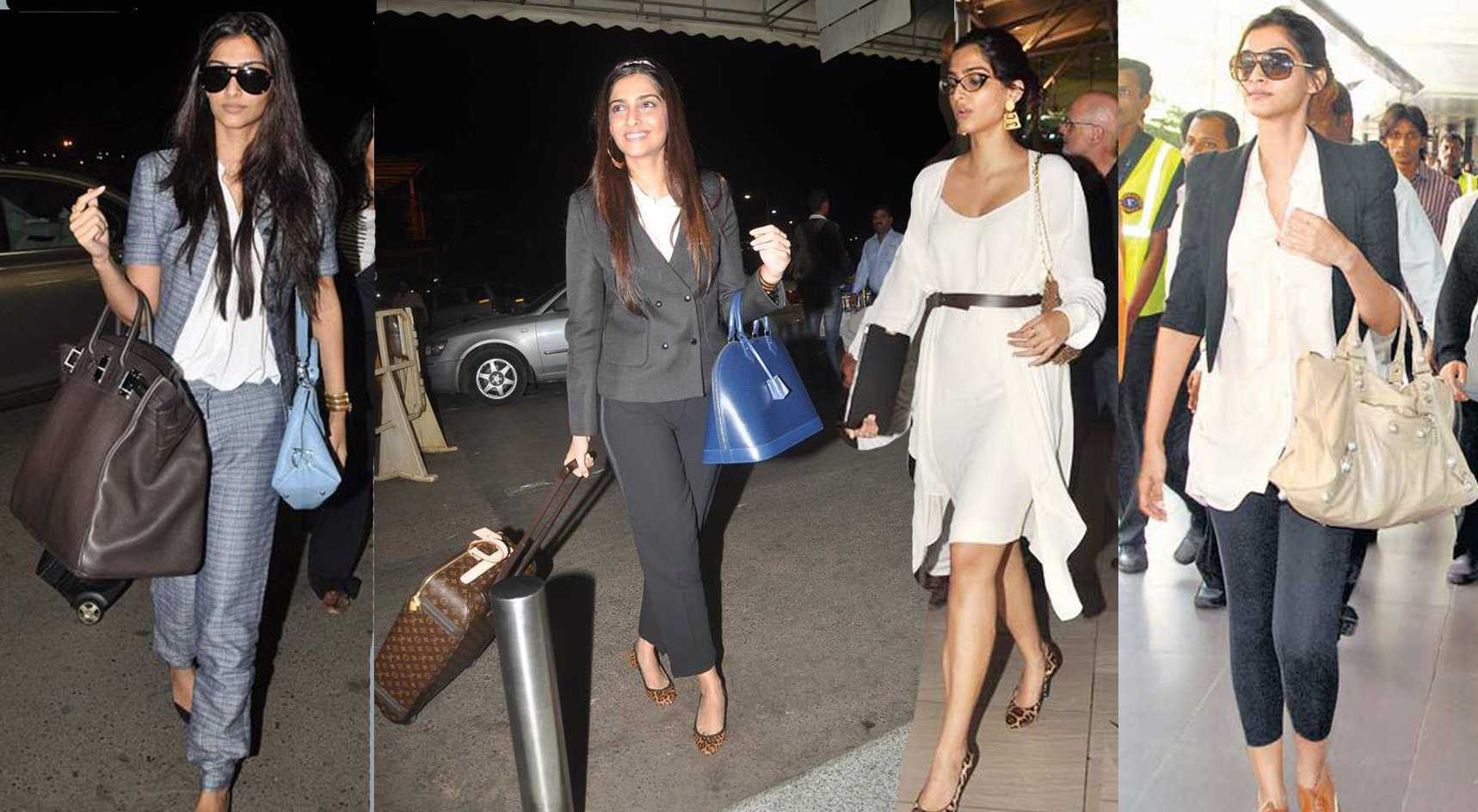 cannes 2012 sonam kapoor airport - Airport looks to steal from Bollywood