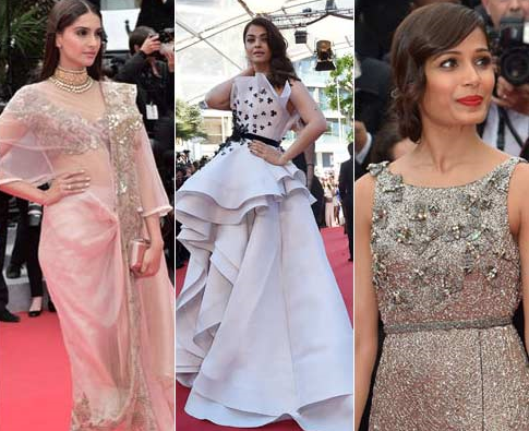 Untitled 1 - Bollywood on Cannes red carpet over the past few years