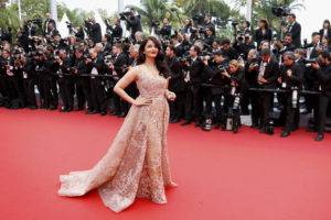 aish red cannes6 820 rtr 300x200 - The glitz and glamour at Cannes'16