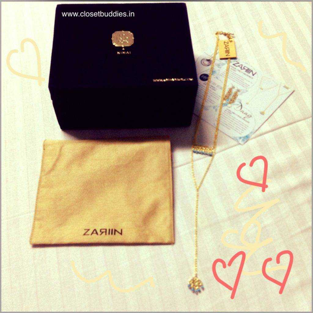 Love the layered necklace by ZARIIN