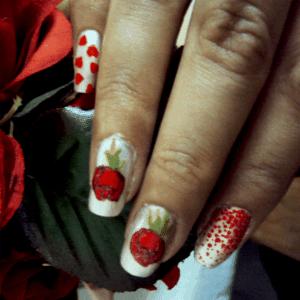 Flower nail art2 300x300 - Just Nailicious