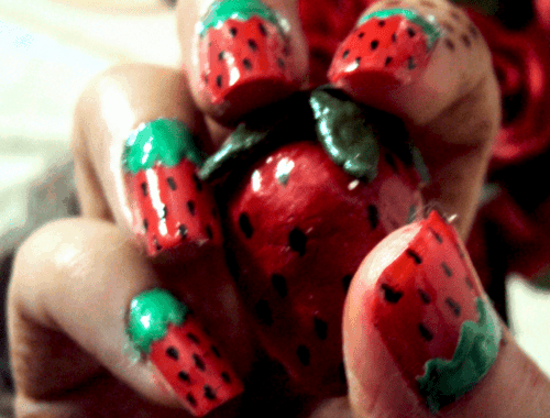 Strawberry 500x380 - Just Nailicious