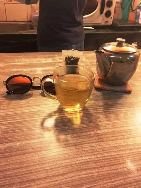 This Tibetan Herbal Tea was the perfect accompaniment!