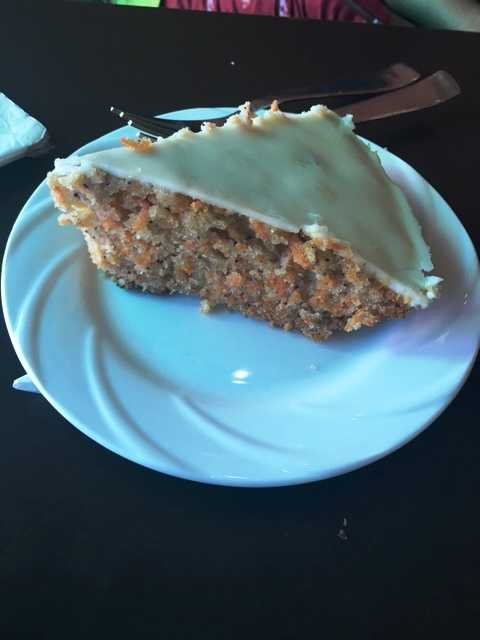 Carrot Cake @ Green Restaurant