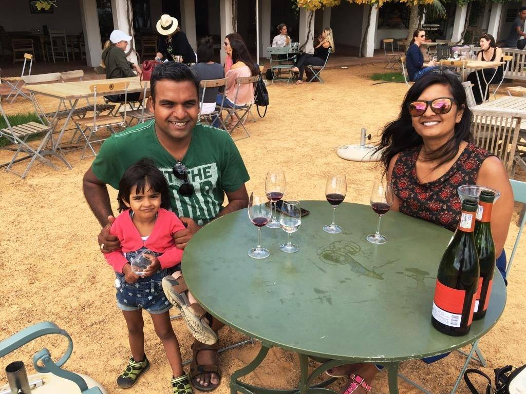 wine tasting in Paarl 1024x768 - Road Trip In South Africa Part-2 (Garden Route and Cape Town)
