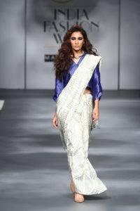 AIFWAW17D1S6SARI 24 7Runway019 200x300 - The saree edition at the Amazon India Fashion Week