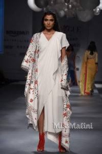 The saree edition at the Amazon India Fashion Week