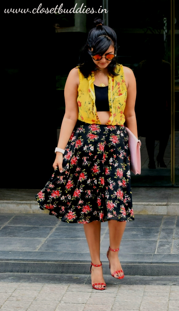 """floral on floral 7 - Breaking Fashion Rules- Part """"Yet- Another"""""""
