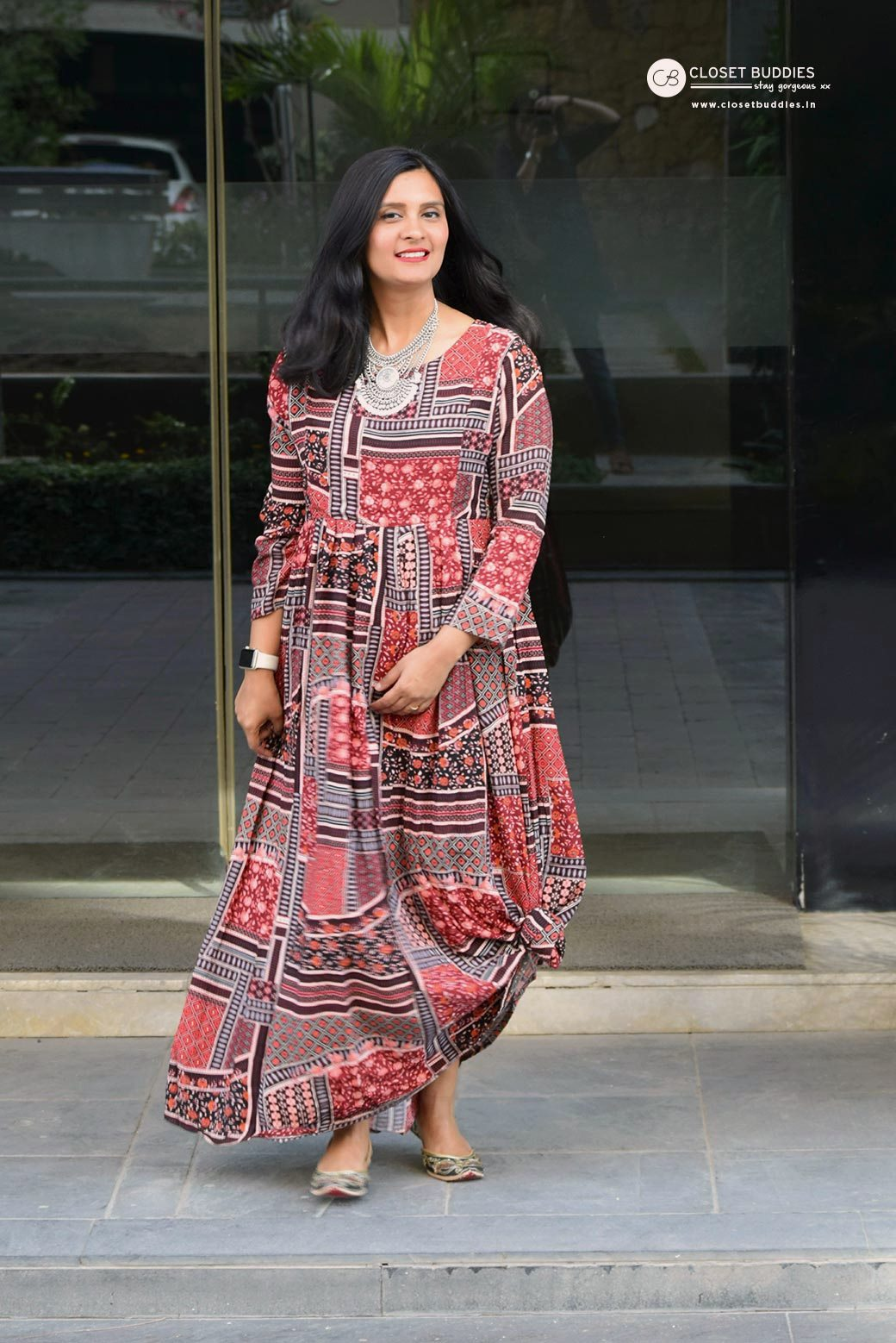 sugandh gown 6 - Getting Knotty
