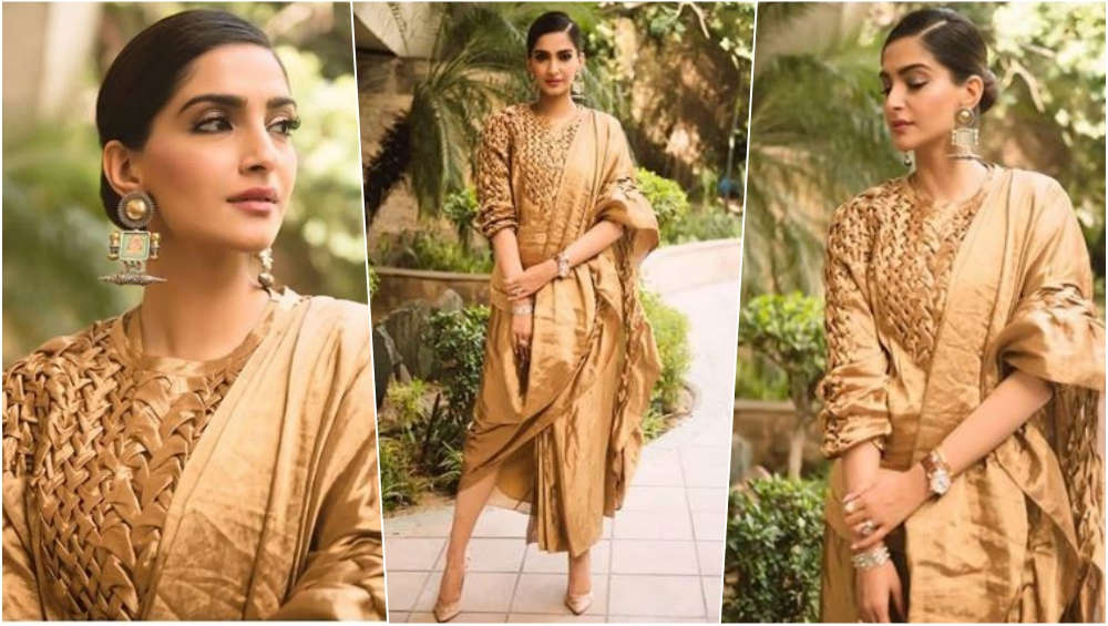 1 latestly - Sonam's sensuous looks for promotions of Veere Di Wedding
