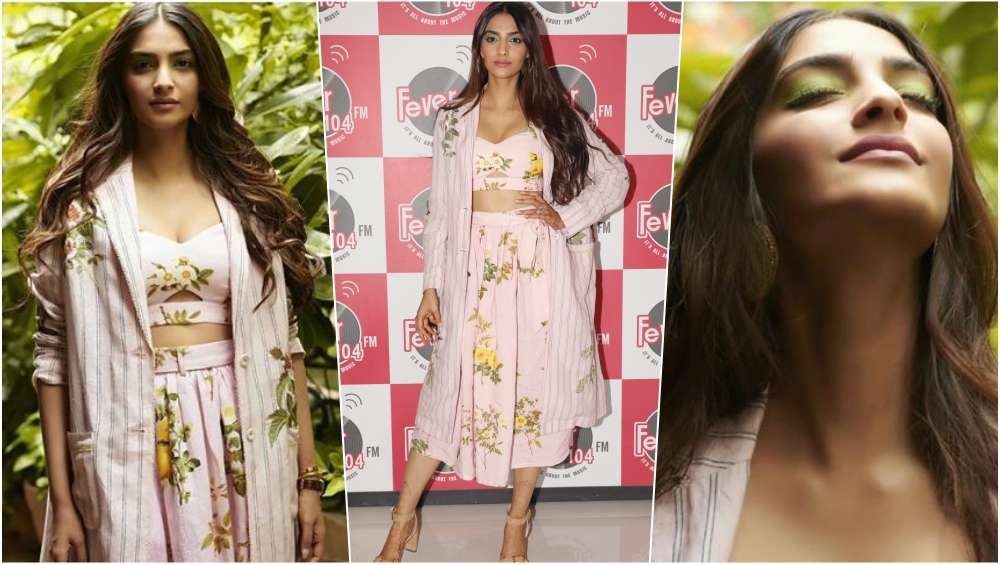 3 latestly - Sonam's sensuous looks for promotions of Veere Di Wedding