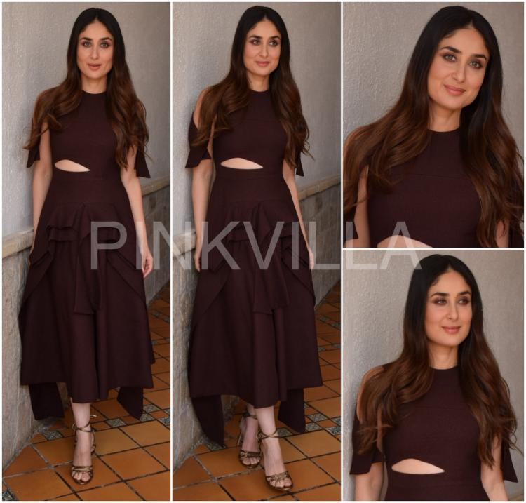 Lady khan and her flawless sense of styling as seen at Veere Di Wedding promotions