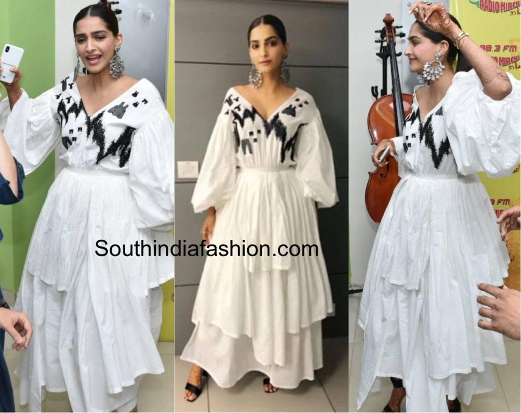 Sonam's sensuous looks for promotions of Veere Di Wedding