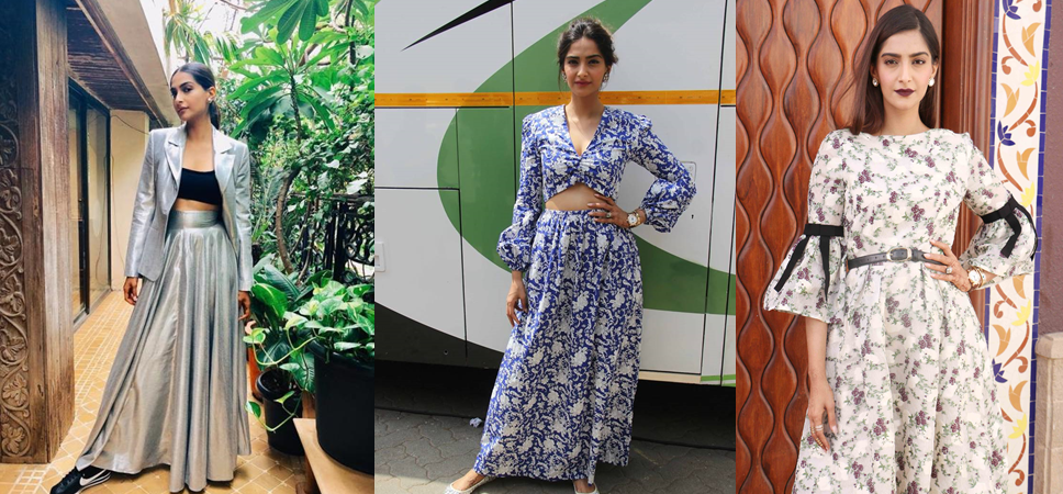Untitled - Sonam's sensuous looks for promotions of Veere Di Wedding