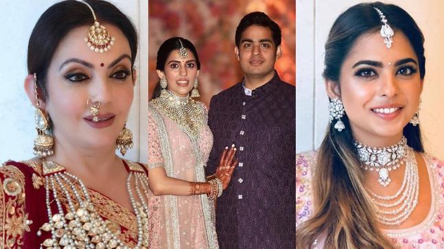 Nita Shloka Isha - Bollywood's best dressed at Akash Ambani Shloka Mehta's engagement ceremony