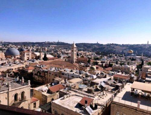 Jerusalem Skyline 1 500x380 - Planning a trip to Israel- why, when and how?