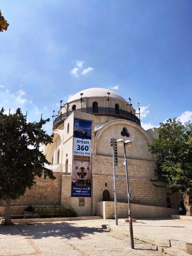 Jerusalem 10 - Travelling to Israel Part-2 (Suggested Itinerary)