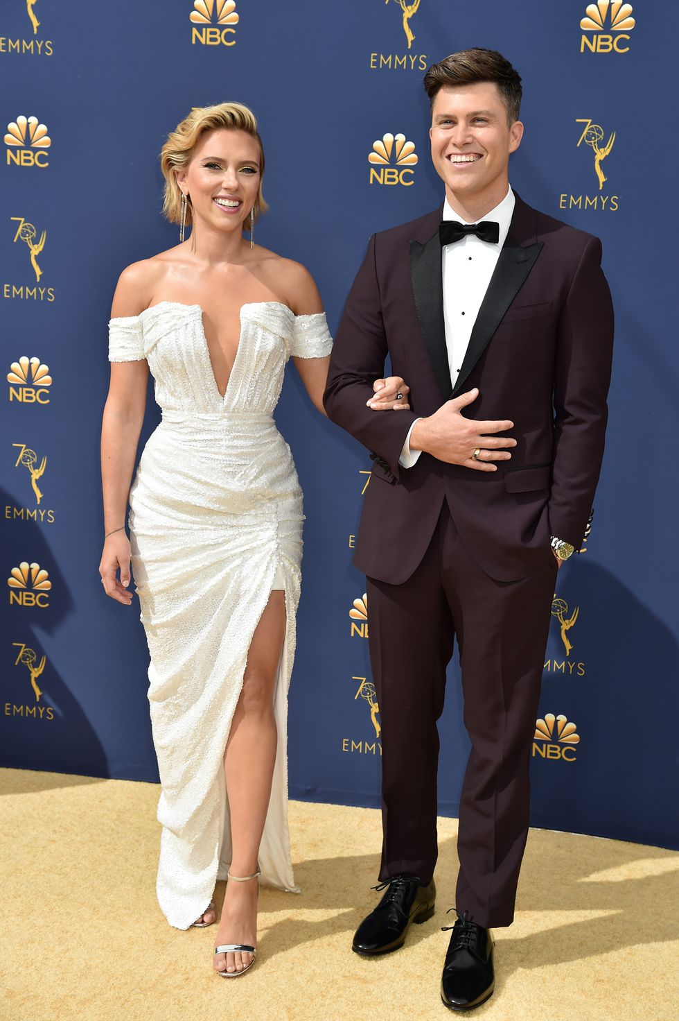 emmy scarlett jo colin 1537224325 - 70th Primetime Emmy Awards