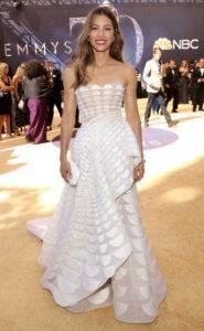 "people jessica biel 185x300 - NBC's ""70th Annual Primetime Emmy Awards"" - Red Carpet"