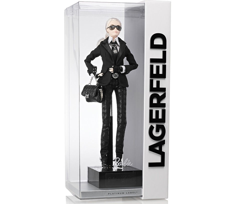 Karl Lagerfeld Barbie - Karl-Lagerfeld-Barbie