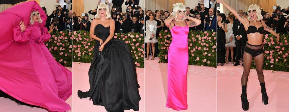 this combination of pictures created on may 06 2019 shows news photo 1141838841 1557230684 - Met Gala 2019