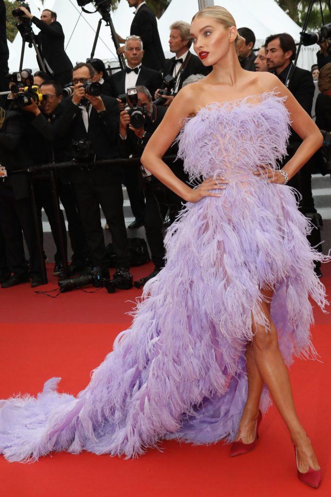 Elsa Hosk harpersbazaar 682x1024 - Fashion faceoff at Cannes Film Festival 2019