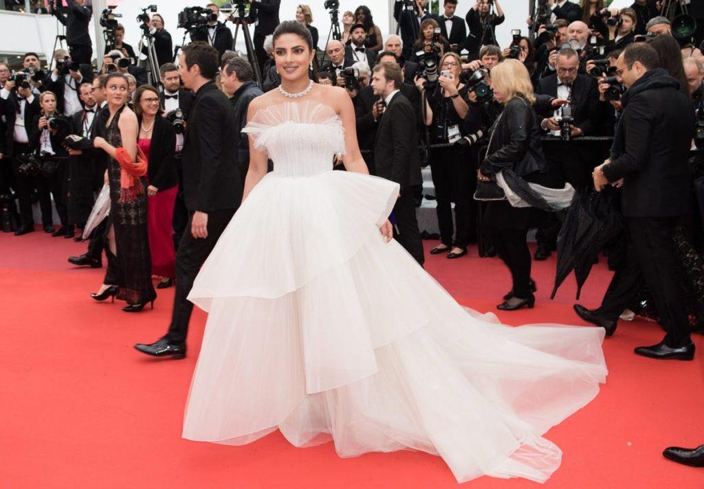 priyanka chopra cannes red carpet 1024x712 - Fashion faceoff at Cannes Film Festival 2019