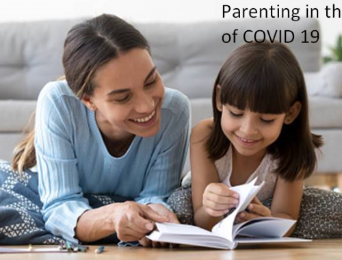 Poster 500x380 - Parenting during the times of COVID-19
